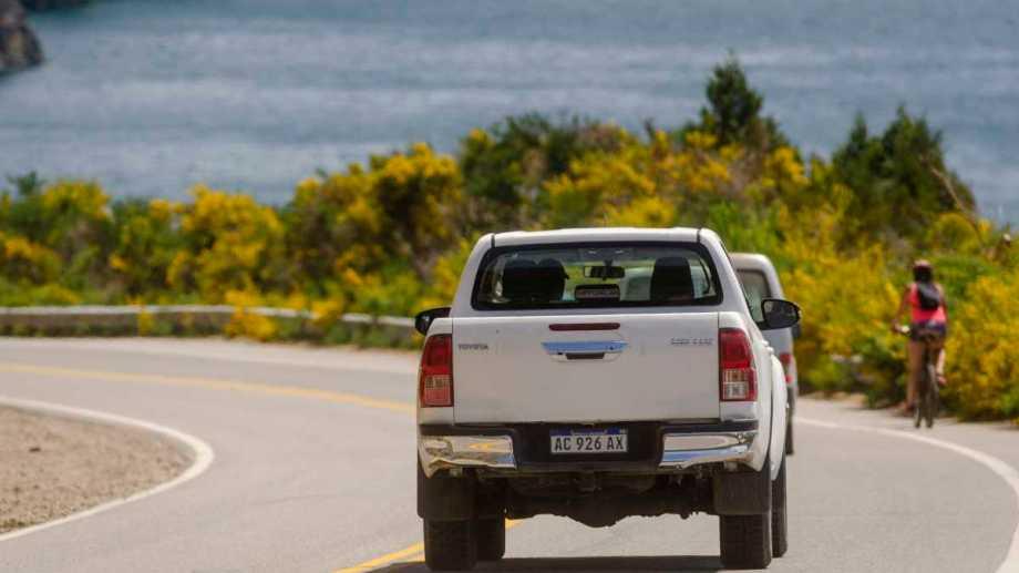 Un motociclista murió tras protagonizar un accidente de tránsito en la Ruta 40, mientras se dirigía a San Martín. (Foto: archivo Patricio Rodríguez)
