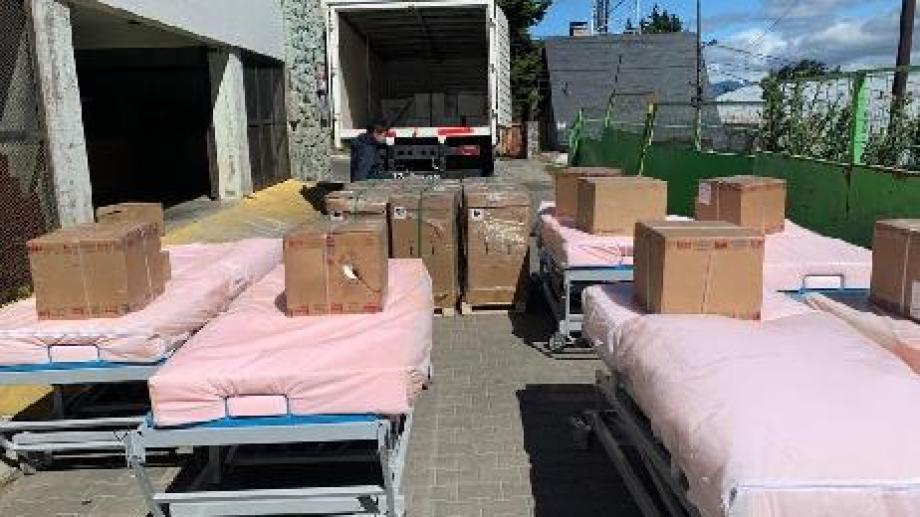 El gobierno provincial dispuso 10 camas con equipamiento para mejorar las terapias intensivas de la ciudad. Gentileza