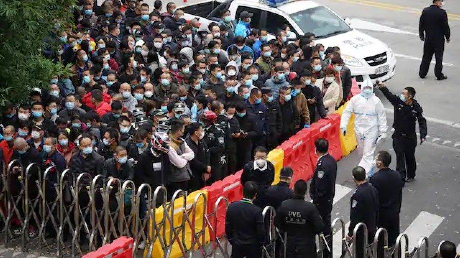 Aún existe el riesgo de que  aumenten los casos en China.