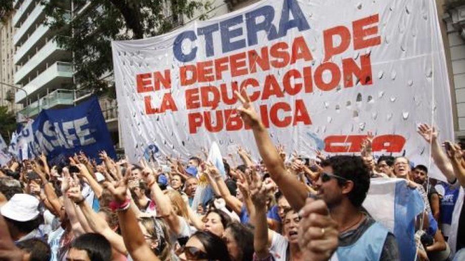 Ctera unió los dichos de Acuña a la gestión macrista. (Gentileza).-