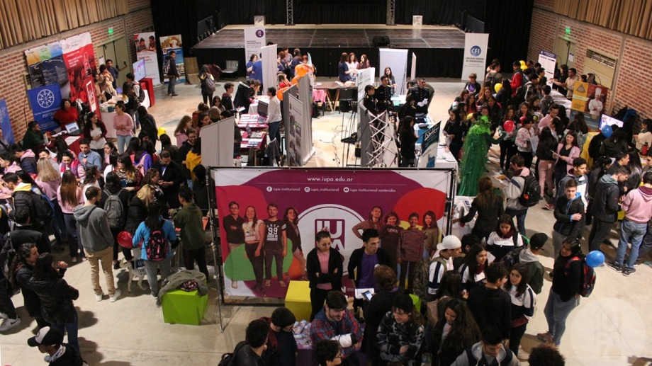 Esta vez, la expo será virtual. Desde IUPA espera la visita de miles de jóvenes interesados en las distintas carreras. (foto: gentileza)