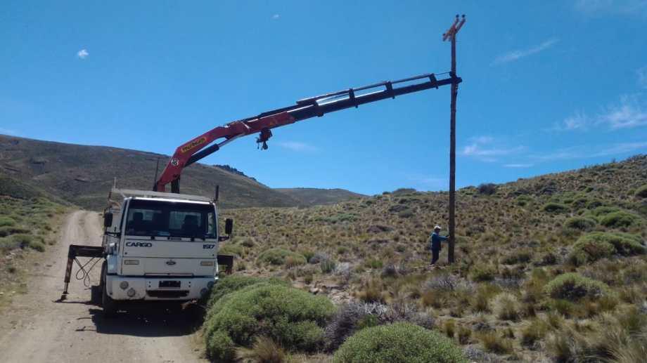 Las tareas en la zona del paraje Pichi Leufu Abajo comenzaron ayer y se extenderán hasta el miércoles. Gentileza
