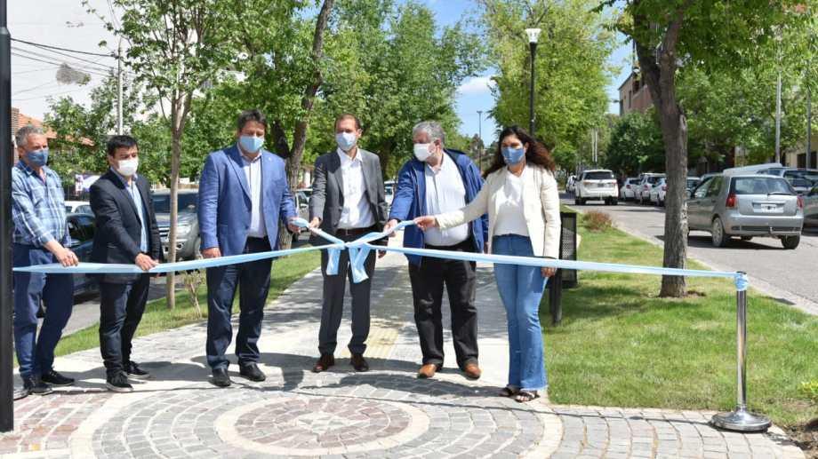 Inauguración del boulevard de la diagonal 9 de julio (gentileza)