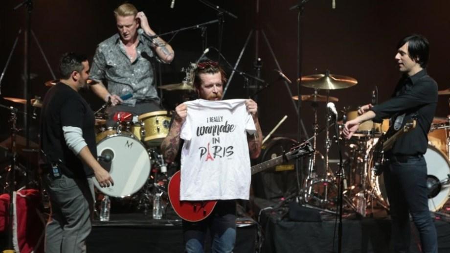 En febrero de 2016, la banda Eagles of Death Metal volvió a dar un show en París tras los atentados, pero en el teatro Olympia.