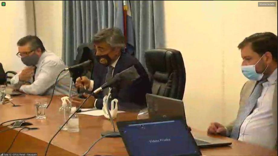 Piana, Trincheri, Yancarelli, el tribunal encargado de dictar el veredicto. (Archivo)