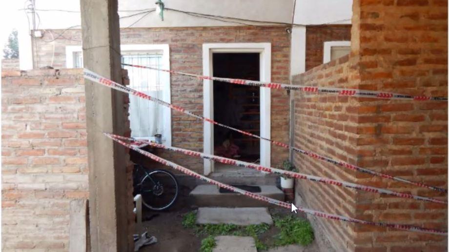 El duplex de Pasteur donde ocurrió el crimen que se está juzgando. (Gentileza)