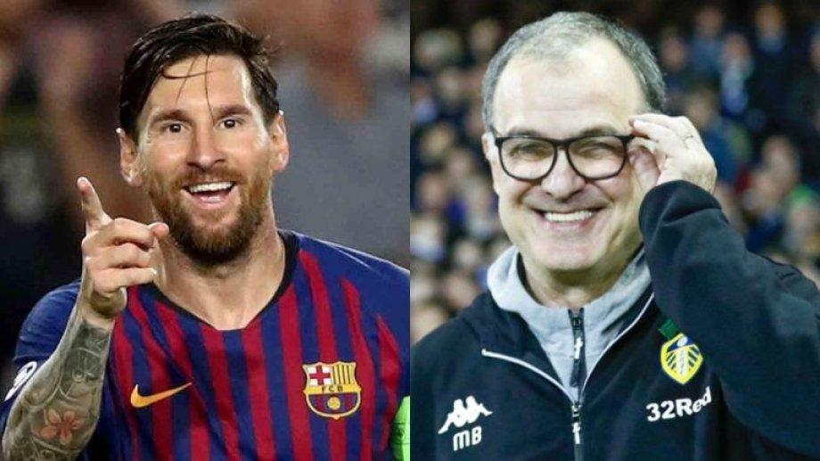 Messi y Bielsa, los representantes argentinos entre los mejores del mundo.