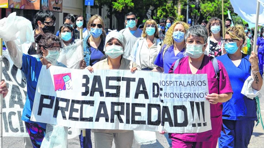 Habrá una marcha esta noche en Las Grutas. Foto: Marcelo Ochoa.