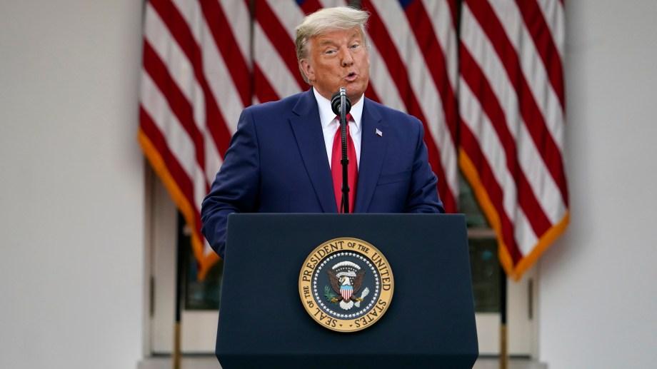 Se necesitaban dos tercios del Senado para condenar a Trump. (Foto: AP)
