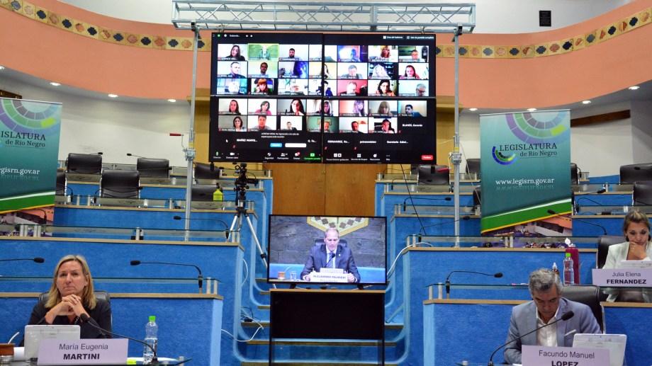 La Legislatura sesionará bajo la modalidad de videoconferencia como la sesión anterior. Foto: Marcelo Ochoa