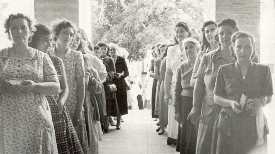 Se cumplen 69 años de voto femenino en nuestro país