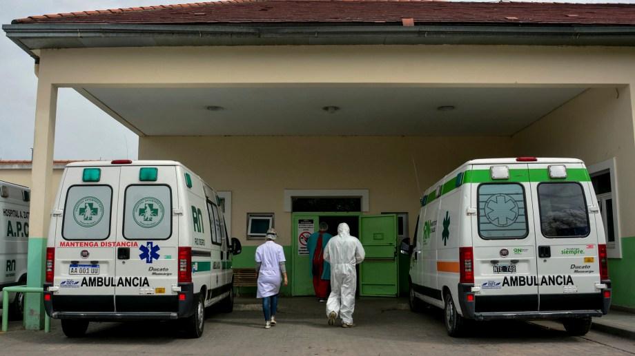 La ablación se realizó en el hospital Zatti. Foto: Pablo Leguizamón