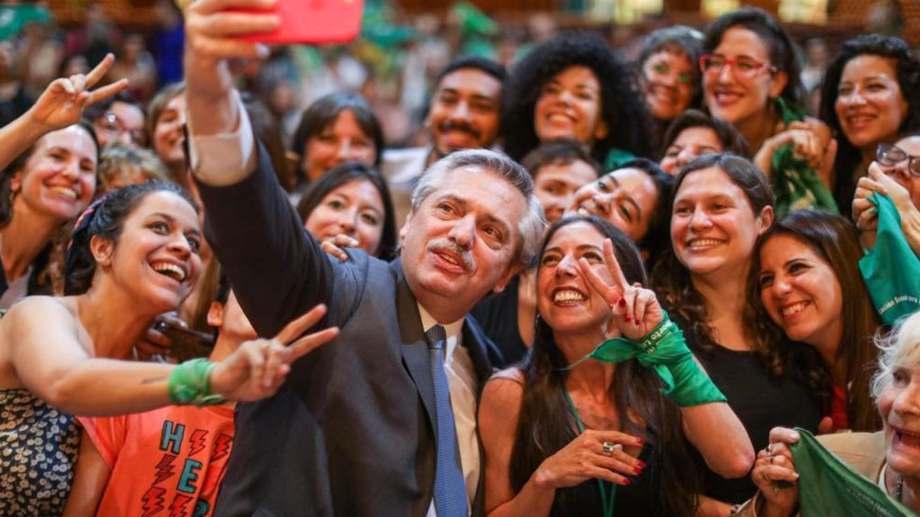 Fernández había prometido que presentaría un proyecto sobre el aborto legal durante su campaña.