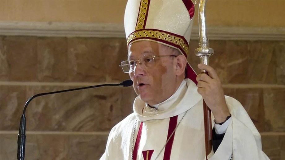 El obispo de la Diócesis del sur mendocino, Eduardo María Taussig, fue agredido por Dib.