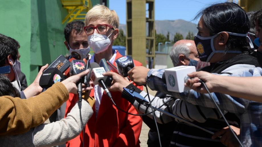 La senadora García Larraburu había votado en contra hace dos años (Foto: Chino Leiva)