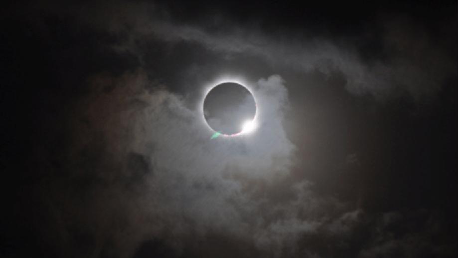 Antecedente. Así se observó el eclipse solar del 13 de noviembre de 2012 en el norte de Australia. Crédito: Romeo Durscher