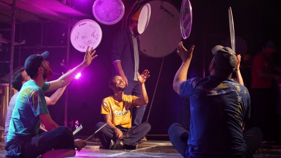 """""""En obra"""",  del Ensamble de Percusión de FCP, abrió la propuesta digital de la institución cuando apenas comenzaba la  cuarentena."""