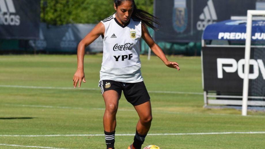 La barilochense, Miriam Mayorga, pasó a Boca y sigue en la Selección.