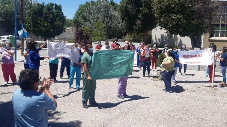 Los trabajadores rechazan el aumento y el plus pandemia. Foto: José Mellado.