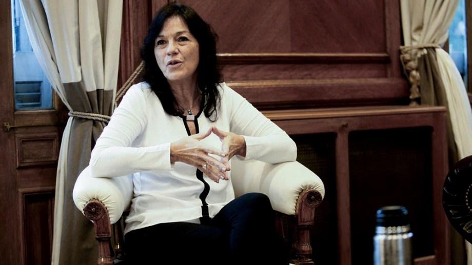 Vilma Ibarra, secretaria legal y Técnica.