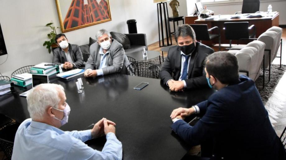El intendente Mariano Gaido tiene dos días de gestiones en Buenos Aires (gentileza)
