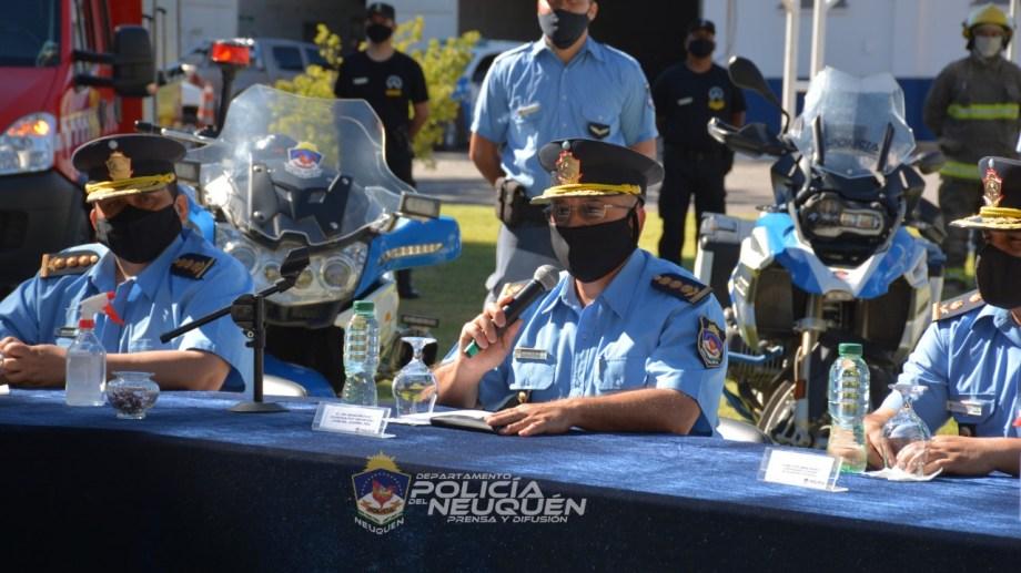La Policía de Neuquén pidió que se sigan los protocolos sanitarios . Foto: Gentileza