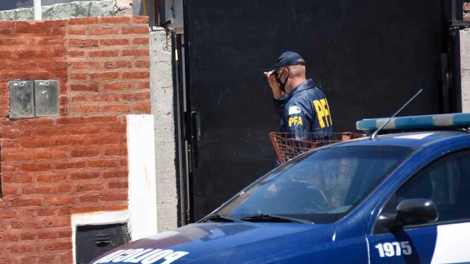La Policía Federal participó de los operativos en distintos puntos de la capital neuquina. Foto archivo: Florencia Salto.