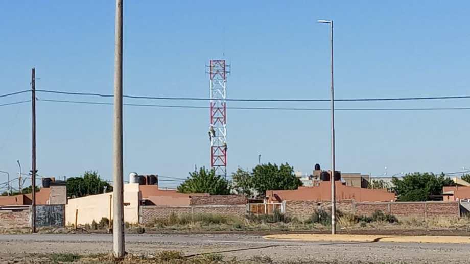 La obra se realizaba en una vivienda del barrio Los Fresnos de la capital provincial.