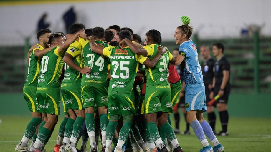 El Halcón pasó por primera vez a semifinales de un torneo continental. (Foto: AP)