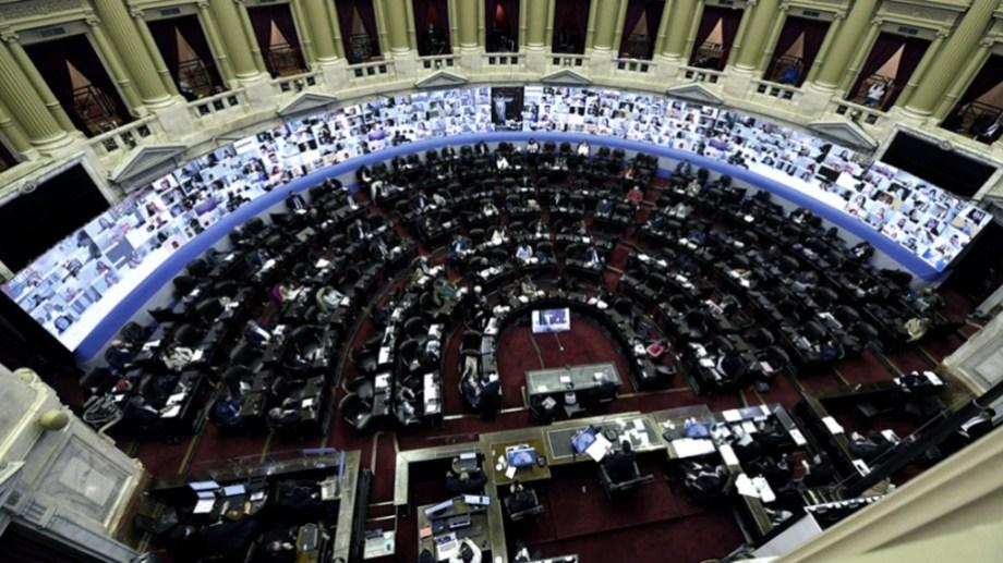 Sesiones extraordinarias en la Cámara de Diputados.