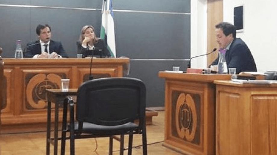 El juez Bernardo Campana y la jueza Romina Martini integraron el tribunal de juicio, junto con Marcelo Álvarez Melinger. (foto gentileza)