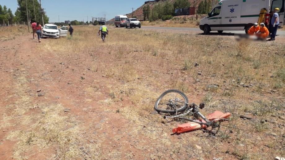 El siniestro vial ocurrió sobre la Ruta 17. Foto: Gentileza