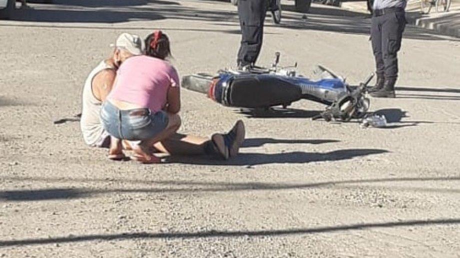 La víctima había sido atacado en la madrugada del 25 de diciembre en las calles de Huergo. (Foto gentileza)