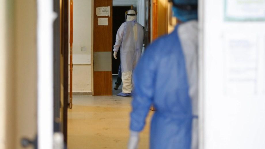 Sector UTI del hospital de Roca. (foto: archivo)
