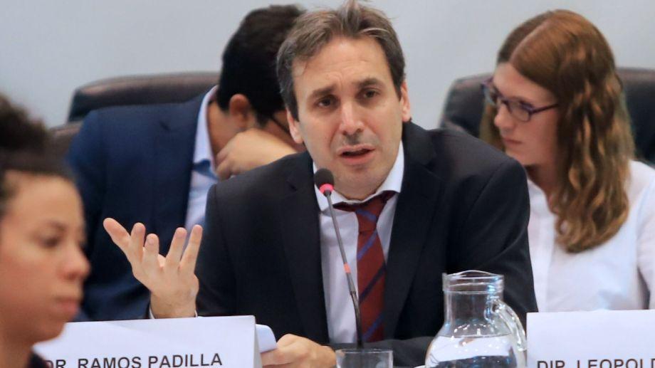 Alejo Ramos Padilla fue designado al frente  del juzgado federal 1 de La Plata.