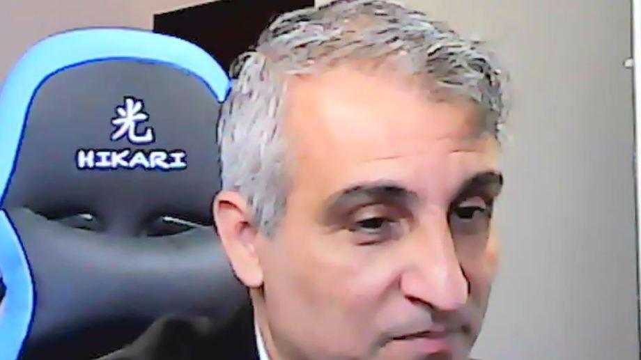 En determinado momento, Piedrabuena amenazó con abandonar la audiencia del lunes.