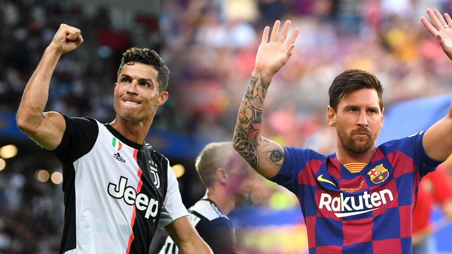 Ronaldo y Messi se enfrentarán esta tarde por Champions League.