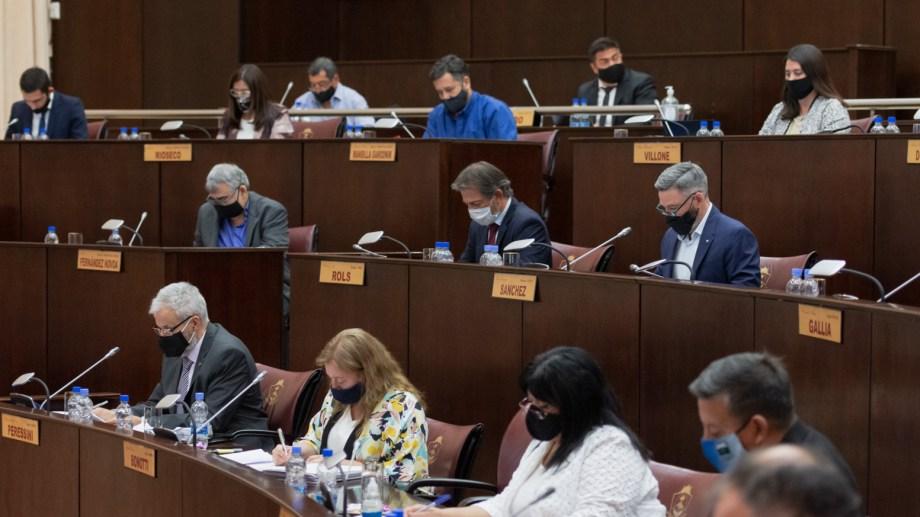 La Legislatura terminó las sesiones ordinarias y abrirá el período de extraordinarias. Foto: gentileza.