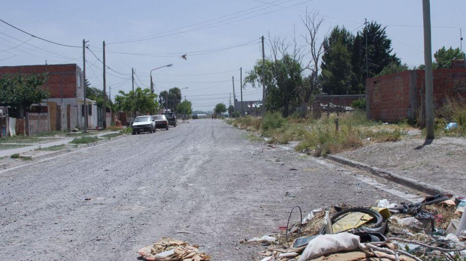 El crimen ocurrió el   7 de diciembre pasado en una vivienda de la calle N 15 del barrio Lavalle de la capital provincial. Foto: Pablo Leguizamon.