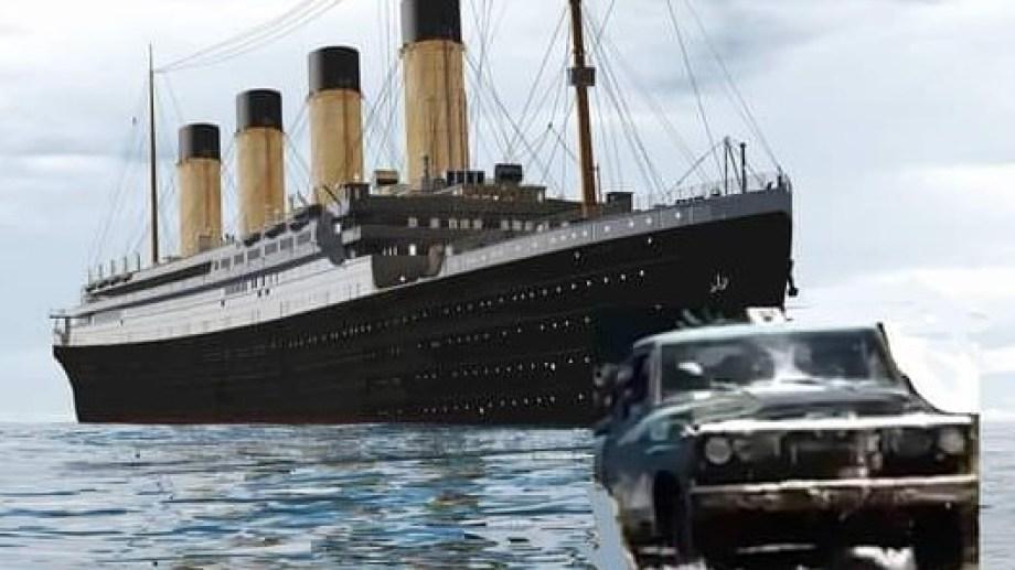"""""""Al Titanic lo hubiera salvado Cristian"""", escribió Luz Calleja en su posteo."""