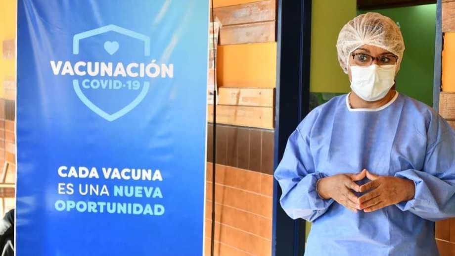 La vacunación continuará mañana en Rincón de los Sauces. Foto: Facebook Rincón de los Sauces
