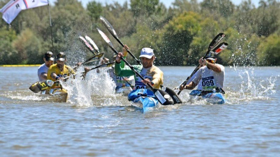 Los hermanos Caffa ganaron la quinta etapa. Foto: Jorge Tanos