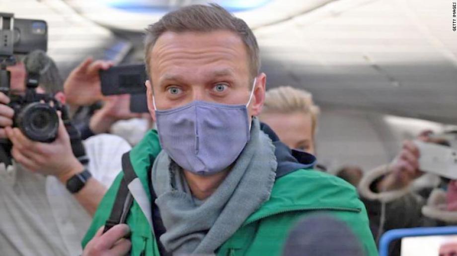 Navalny acusó al Kremlin de su envenenamiento y hoy decidió volver en su rol opositor.-