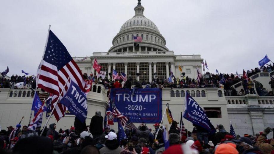 El Capitolio fue el centro de las manifestaciones días atrás, donde se vivieron violentos incidentes.-