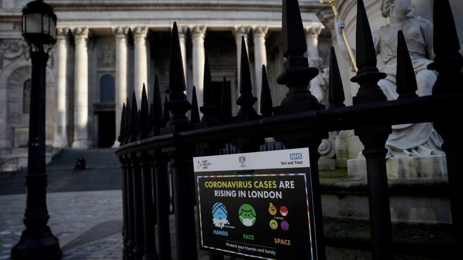 Debido al aumento de casos, Londres atraviesa su tercer confinamiento.