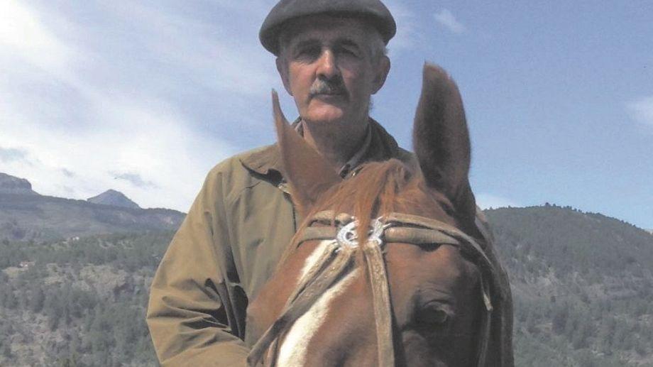 Aldo Pelletieri dejó las cabalgatas después de más de 30 años en San Martín de los Andes. Gentileza
