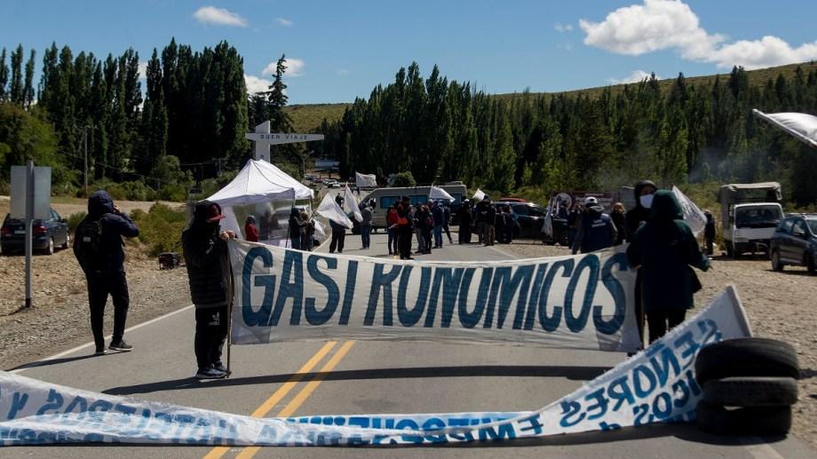 Las protestas de los trabajadores gastronómicos podrían regresar a Bariloche. Archivo