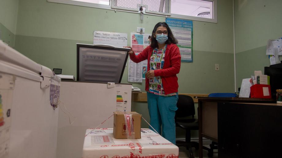 Las primeras dosis de la vacuna Sputnik V llegaron al Hospital Zonal Ramon Carrillo el 29 de diciembre. Foto: archivo