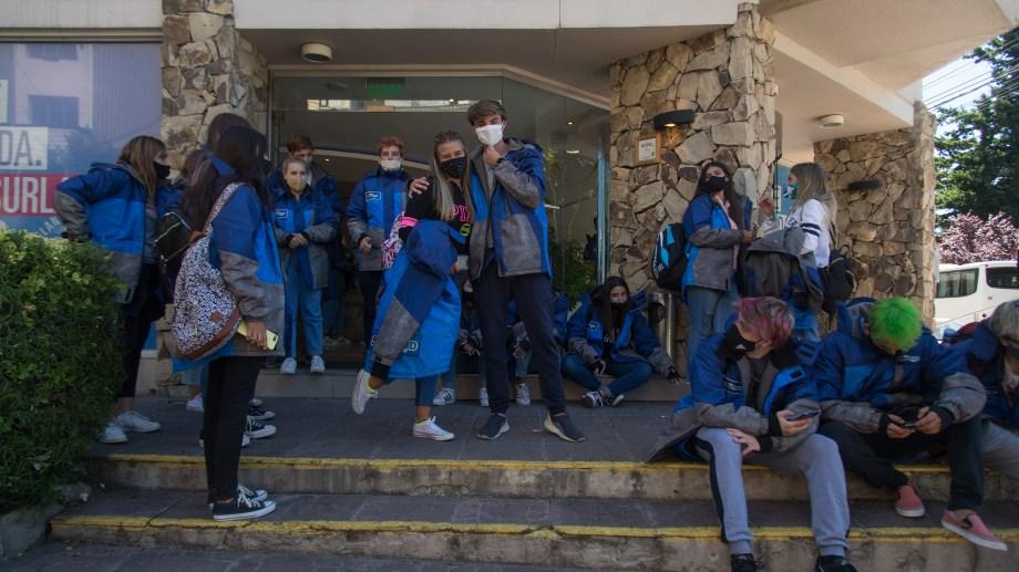 Los egresados regresaron a Bariloche a comienzos de enero. Foto: Archivo/ Marcelo Martinez