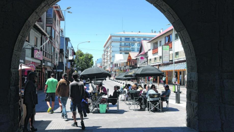 En Bariloche hay 1.526 personas contagiadas según los datos oficiales. (Foto Alfredo Leiva)